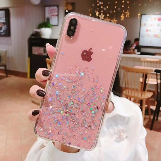 Glitter Flakes iPhone 11 Case