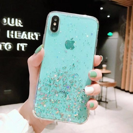 Glitter Flakes iPhone 11 Pro Max Case