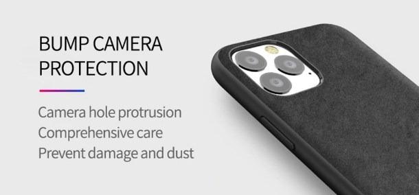 iPhone 11 pro alcantara case