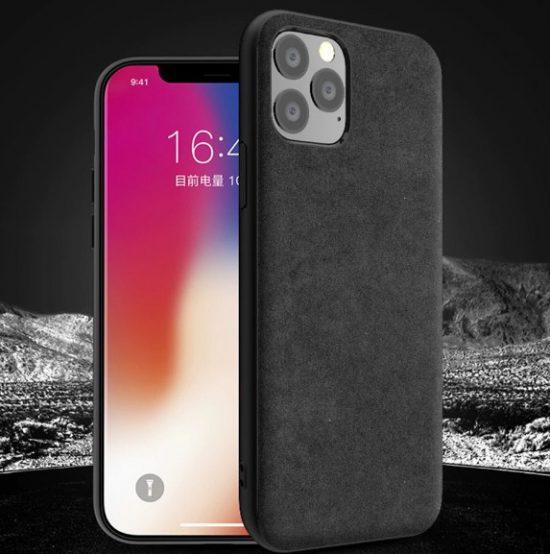 iPhone 11 pro max alcantara case