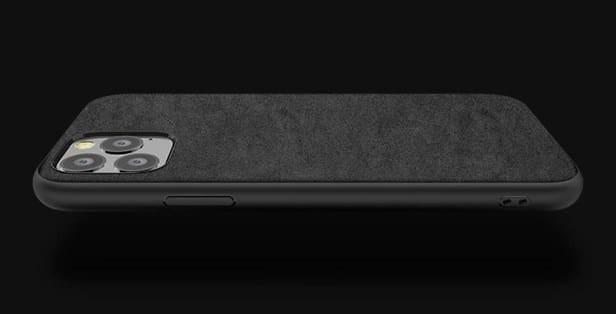 iPhone 11 pro max alcantara suede case