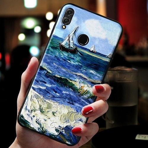 Painting Style Acrylic Phone Case