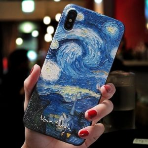 Painting Style Acrylic iPhone Case
