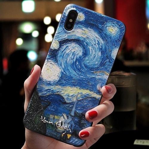 Painting Style Acrylic iPhone Case