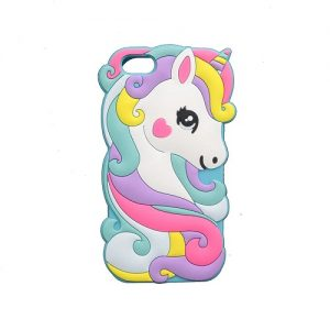 rabbit hors blue iphone case