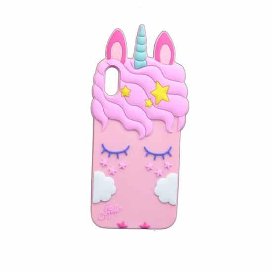 rose eye rabbit unicorn phone case