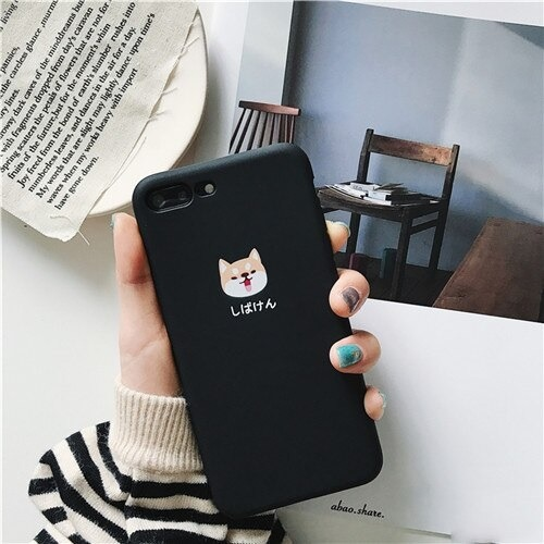 Smiley Shiba Inu Phone Case for iPhone 11 Pro Max
