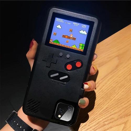 black GameBoy phone case
