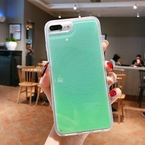 Luminous Neon Sand Phone Case
