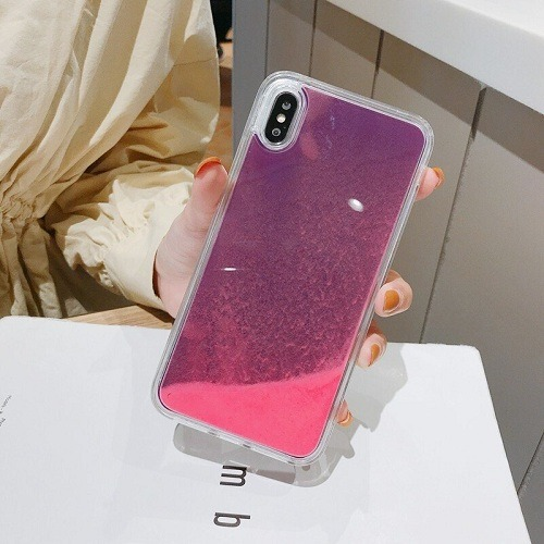 Luminous Neon Sand iPhone Case