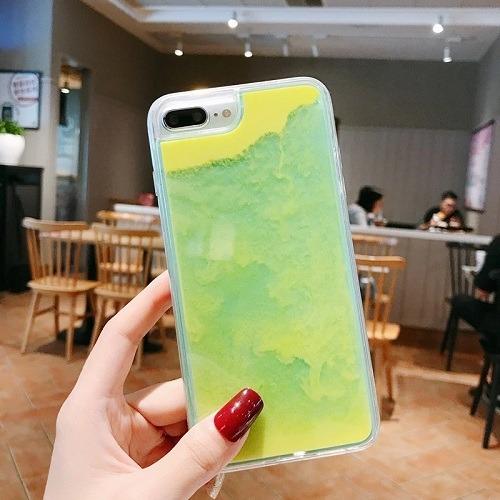 Neon Sand Phone Case