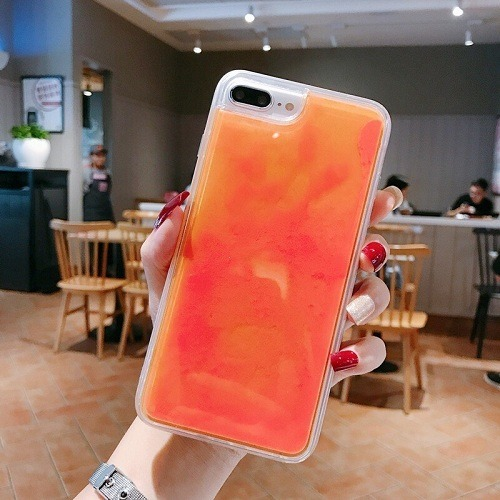 Neon Sand iPhone Case