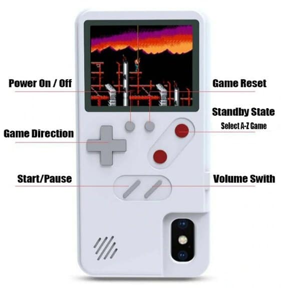 how to play gameboy phone case instruction