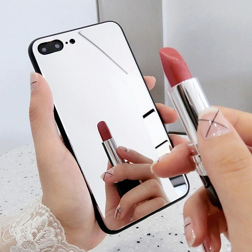 makeup mirror phone case cover