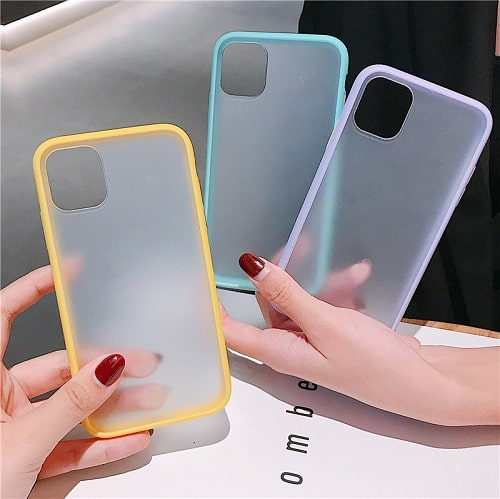 Candy Color Matte iPhone Case