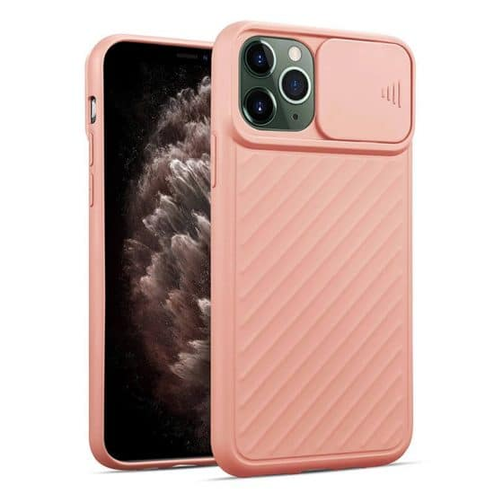 Pink camera protection iphone case