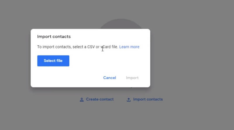 Import Contacts from iphone to android fast and easy