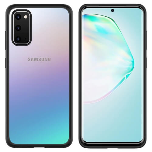 Black Bumper phone case for Samsung Galaxy S20 Plus Ultra