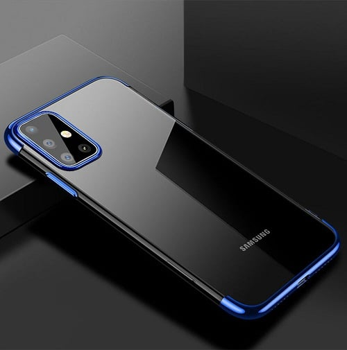 Samsung Galaxy S20 Plus Clear Silicone Case