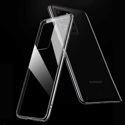 Transparent phone case cover for samsung Galaxy S20 Plus Ultra