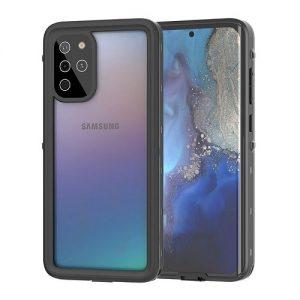 Black Samsung Galaxy S20 Ultra Waterproof Case