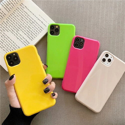 Bright Fluorescent Phone Case for iPhone 11 Pro Max
