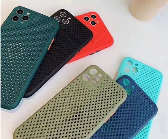 Heat Dissipation Breathable Phone Case for iPhone 6 7 8 Plus