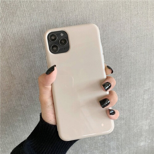 khaki Bright Fluorescent Phone Case Cover for iPhone X