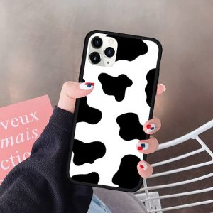 Cow Print Phone Case For iPhone 13 Pro Max
