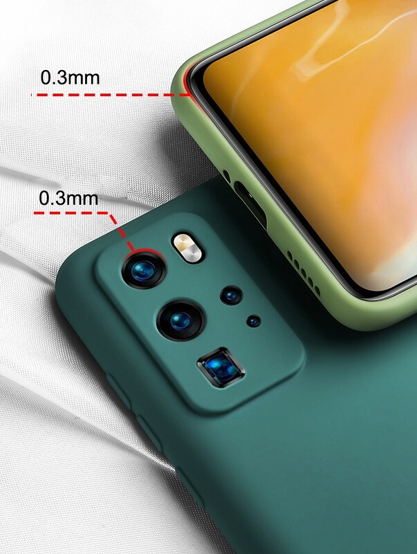Candy Color Camera Protection Silicone Case For Samsung S20 Plus