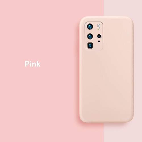 Pink Camera Protection Samsung S20 Plus Case