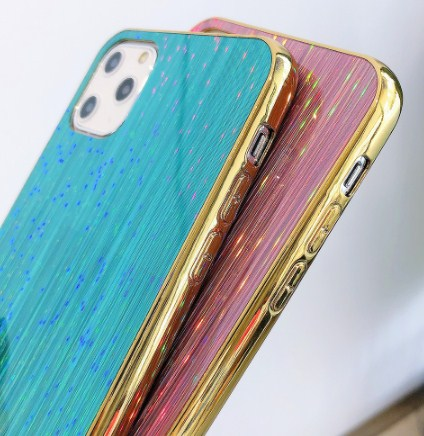 3D Laser Glossy Holographic Phone Case For iPhone Models