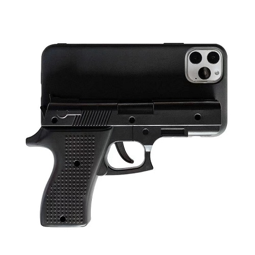 3D Gun shaped phone case for iPhone 11 Pro Max