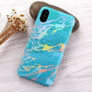 Blue Holographic phone case for iPhone 11 pro max