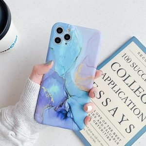 Blue Marble Phone Case For iPhone 11 Pro Max