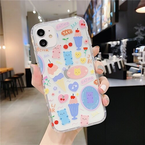 Cartoon Bear Phone Case For iPhone Xs Max