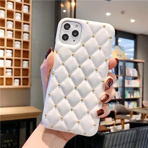 Quilted Jewel Phone Case For iPhone (2)