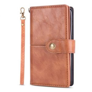 brown galaxy s20 flip wallet case