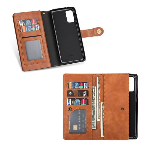 flip wallet phone case for samsung galaxy S20 Plus