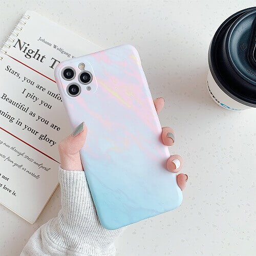pink marble phone case for iphone x, 11 Pro max