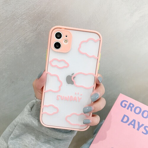 Pink Clouds Phone Case Cover