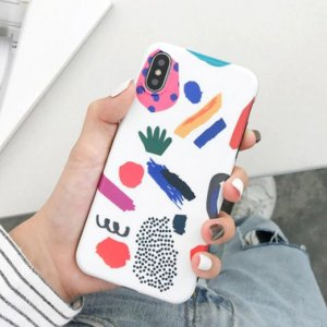 Abstract Art Painted Phone Case