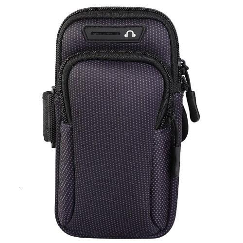 Black Universal Sports Armband Phone Holder