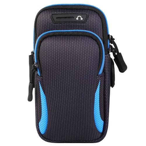 Blue Universal Sports Armband Phone Holder