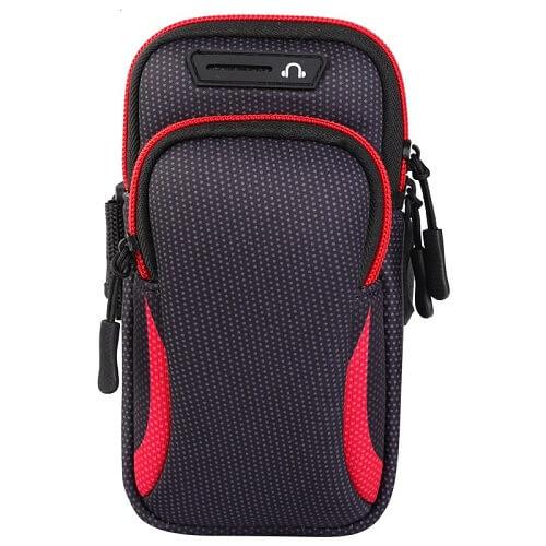 RED Universal Sports Armband Phone Holder