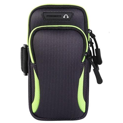 Green Universal Sports Armband Phone Holder
