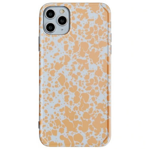 Yellow Artistic Splash Ink Phone Case