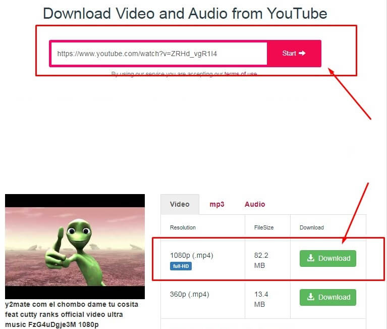 how to download youtube videos to mp4 full hd 1080 or MP3
