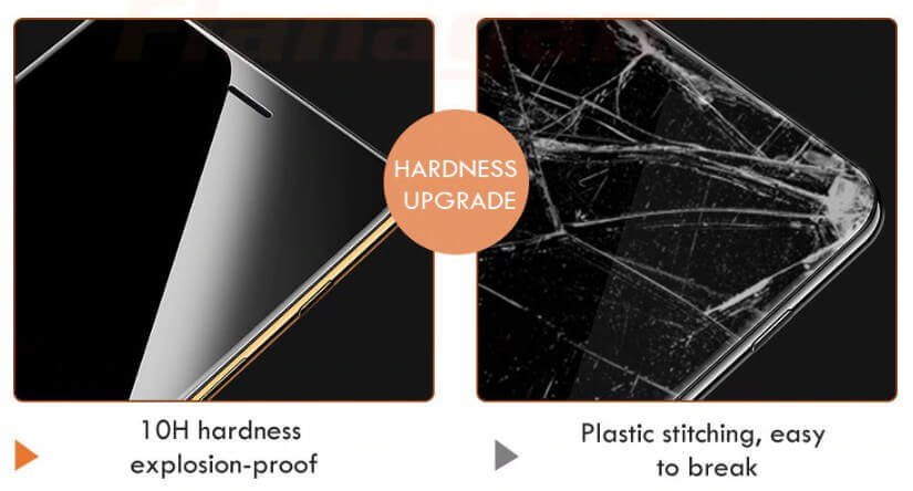 15 Glass Screen Protector For iPhone X