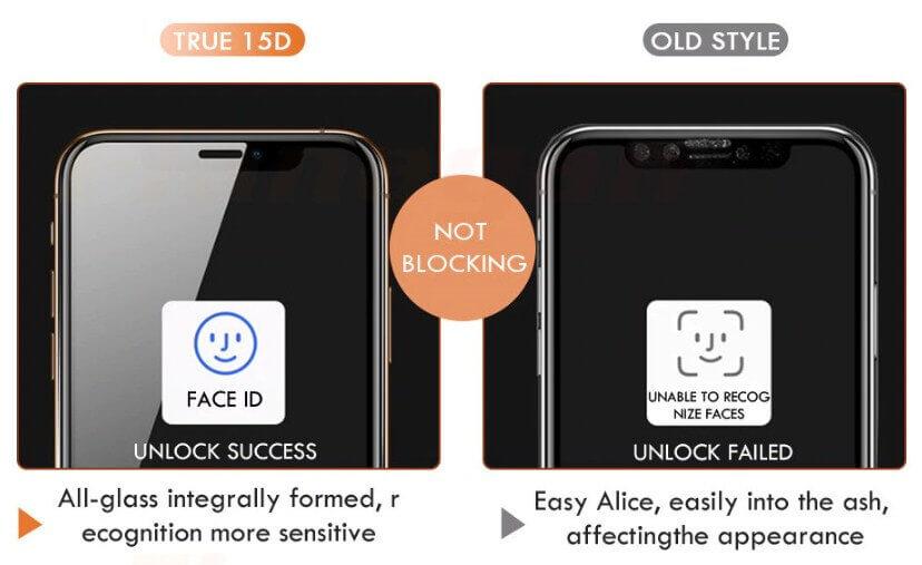 15D 10H iPhone XS MAX screen protector